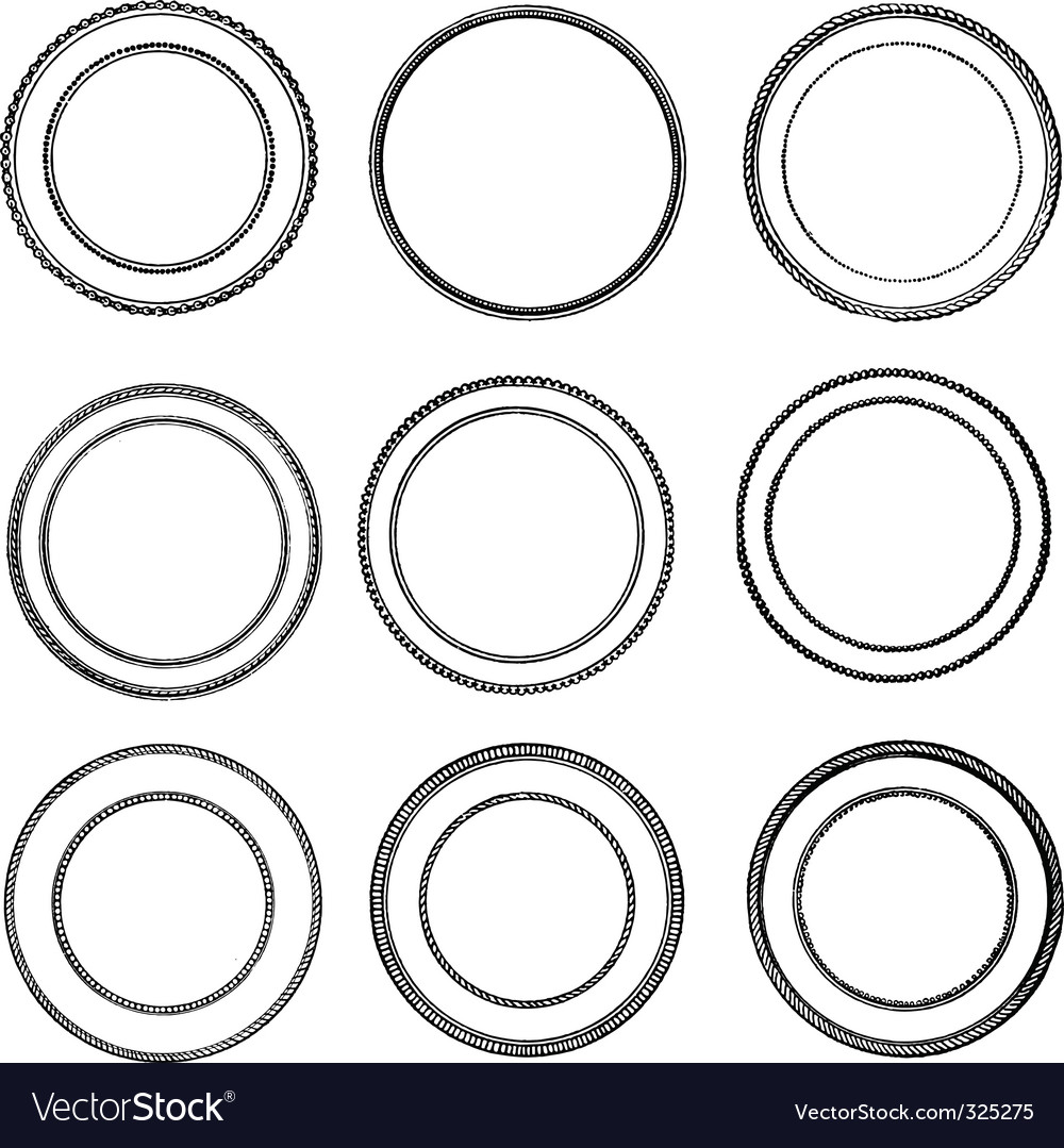 Vintage seal set vector | Price: 1 Credit (USD $1)