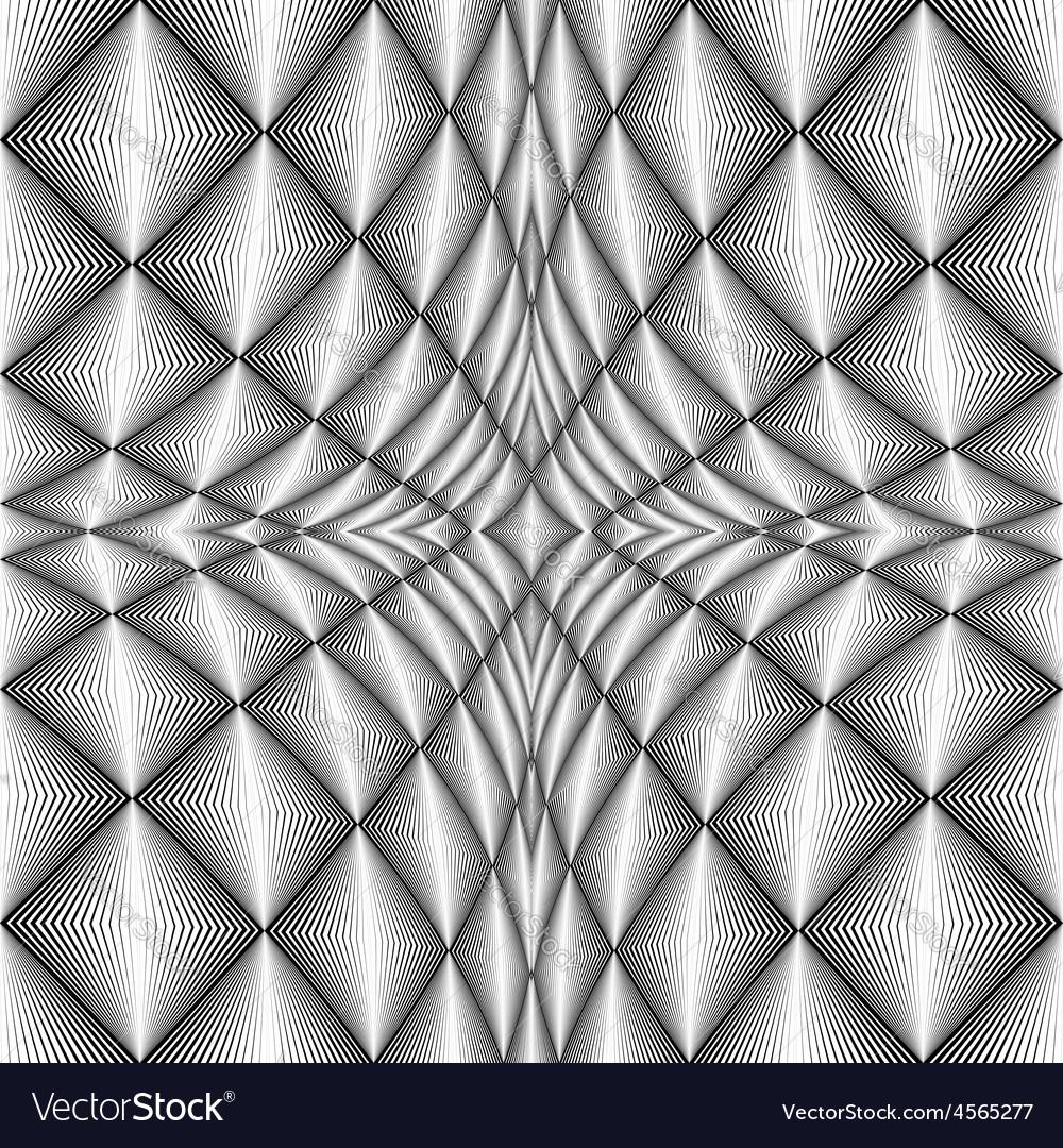 Design diamond concave texture vector | Price: 1 Credit (USD $1)