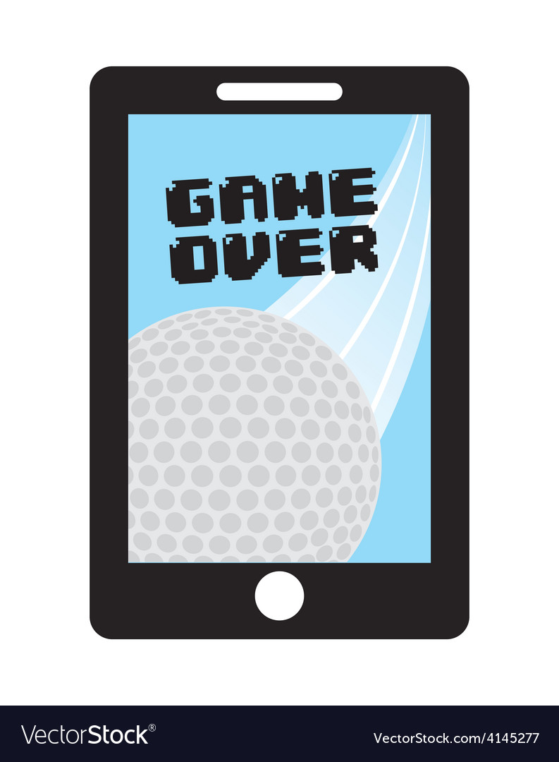 Game over vector | Price: 1 Credit (USD $1)