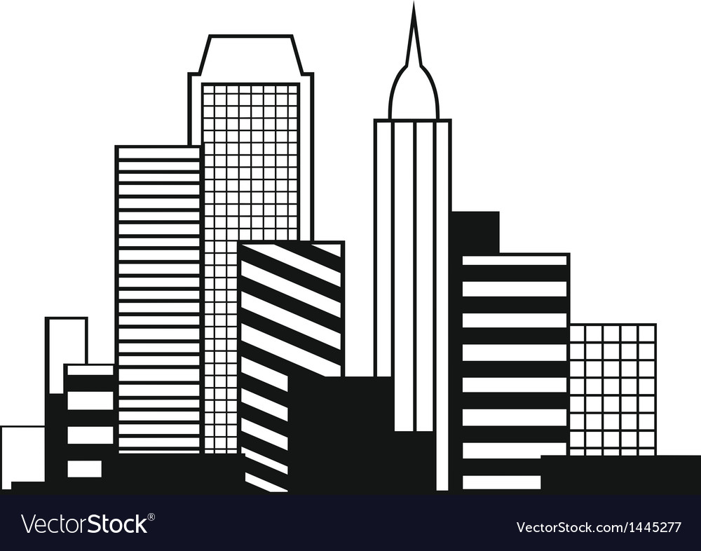 Urban cityscape vector | Price: 1 Credit (USD $1)