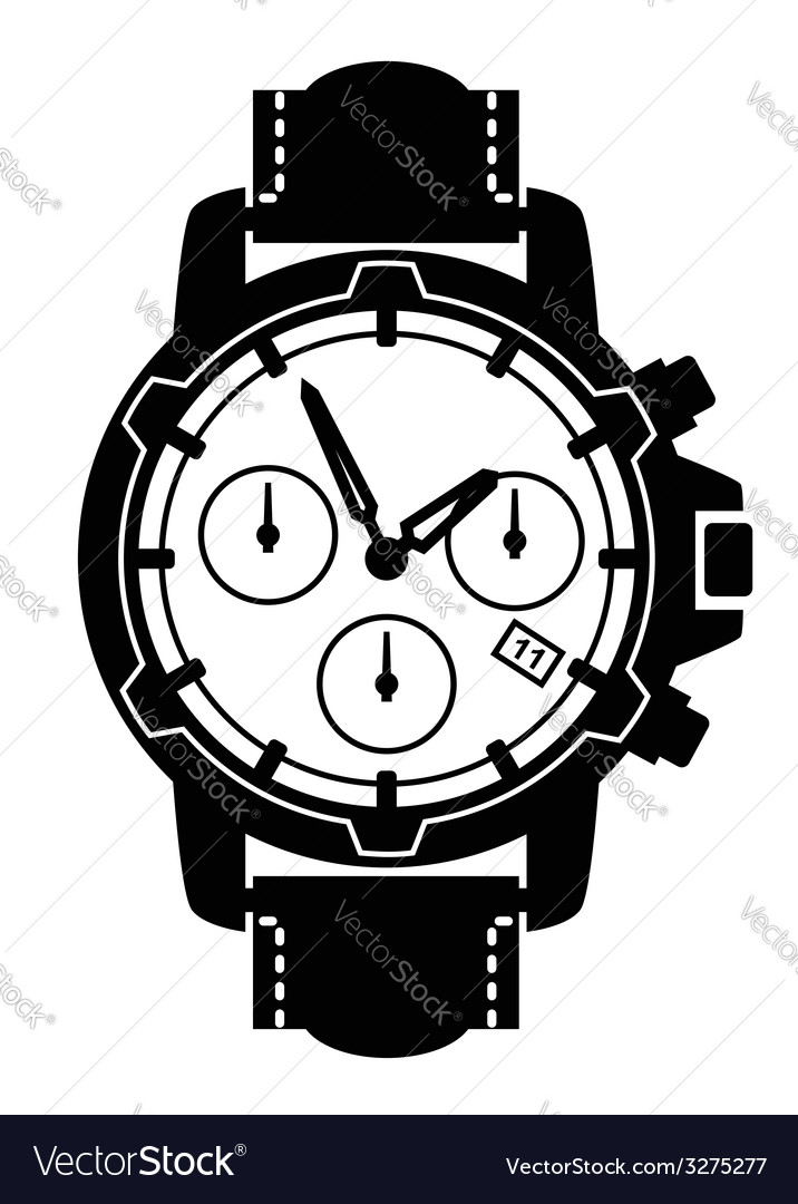 Watch icons vector   Price: 1 Credit (USD $1)