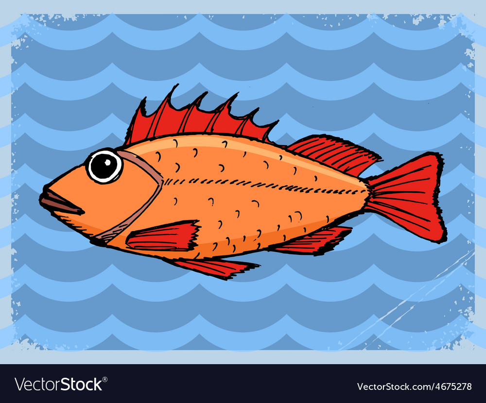 Background with fish vector   Price: 1 Credit (USD $1)