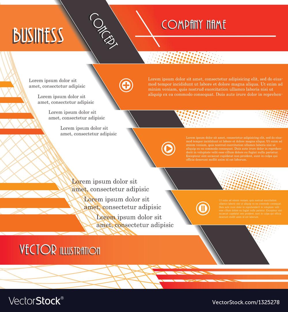Modern infographics design vector | Price: 1 Credit (USD $1)