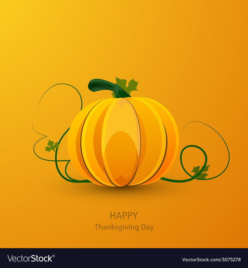 Modern thanksgiving day background vector | Price: 1 Credit (USD $1)