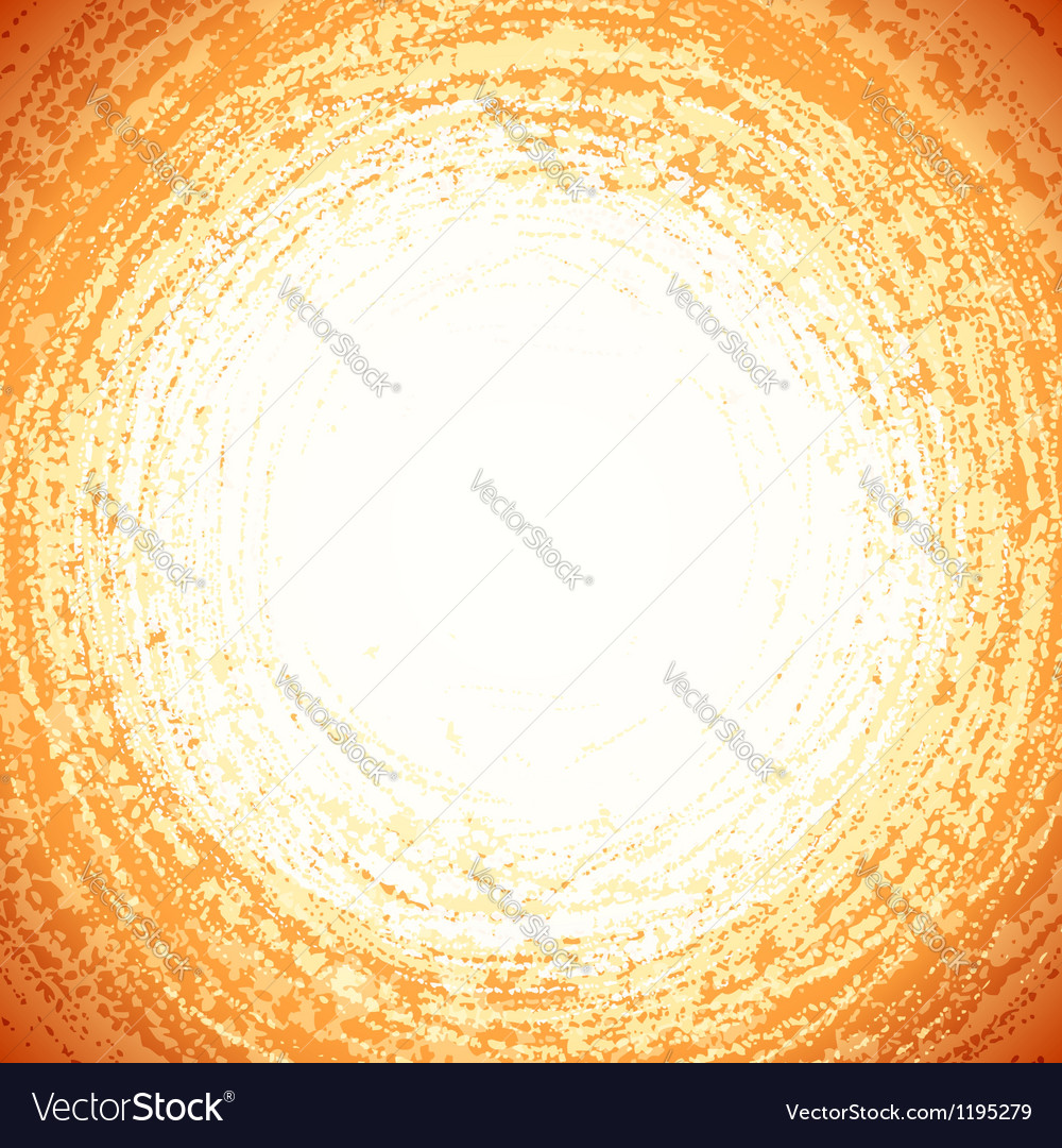Beige grunge circle abstract background vector | Price: 1 Credit (USD $1)
