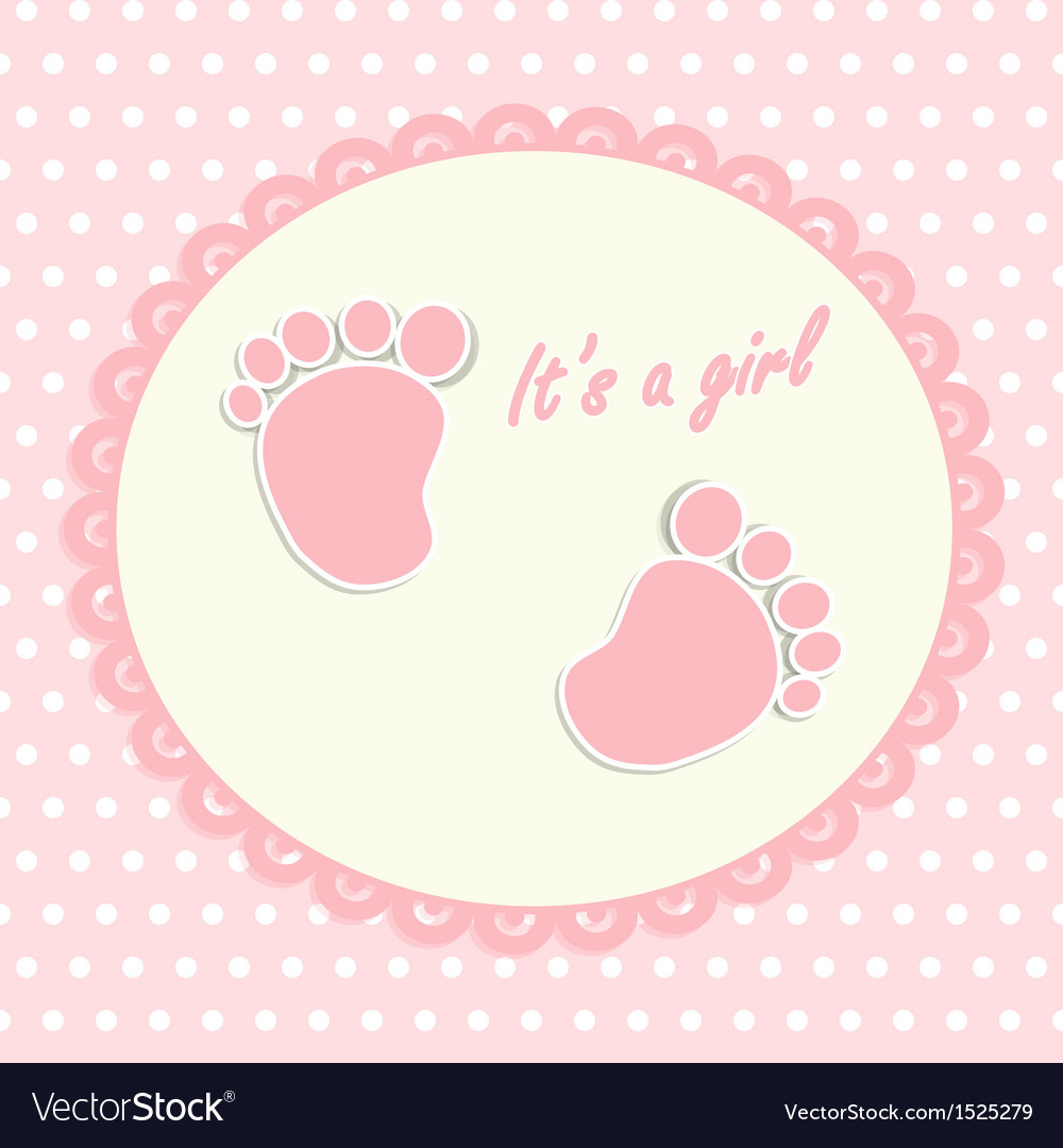 Card for newborn vector | Price: 1 Credit (USD $1)