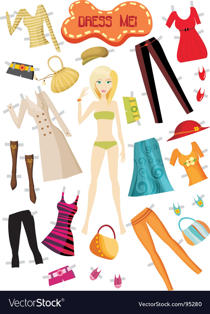 Clothes set vector | Price: 3 Credit (USD $3)