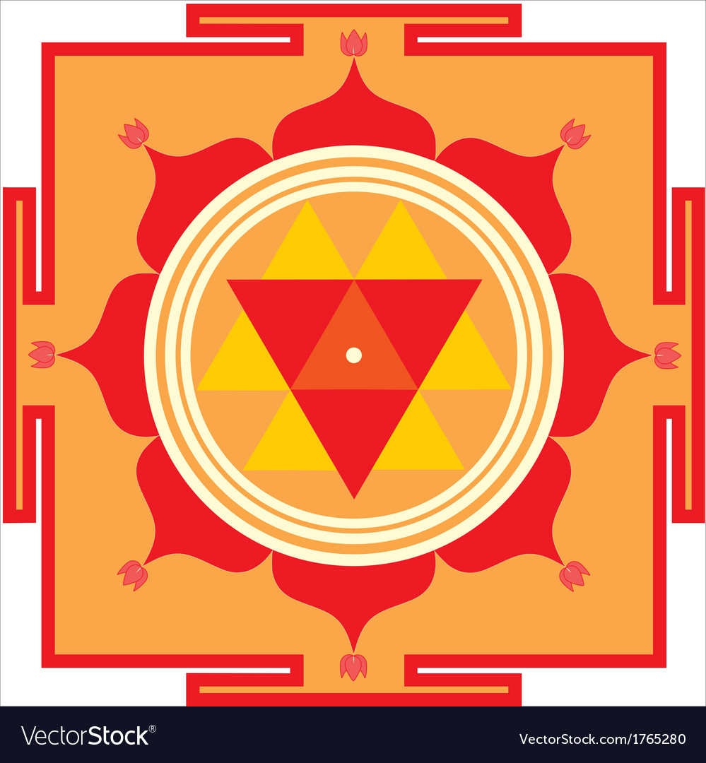 Durga yantra vector | Price: 1 Credit (USD $1)