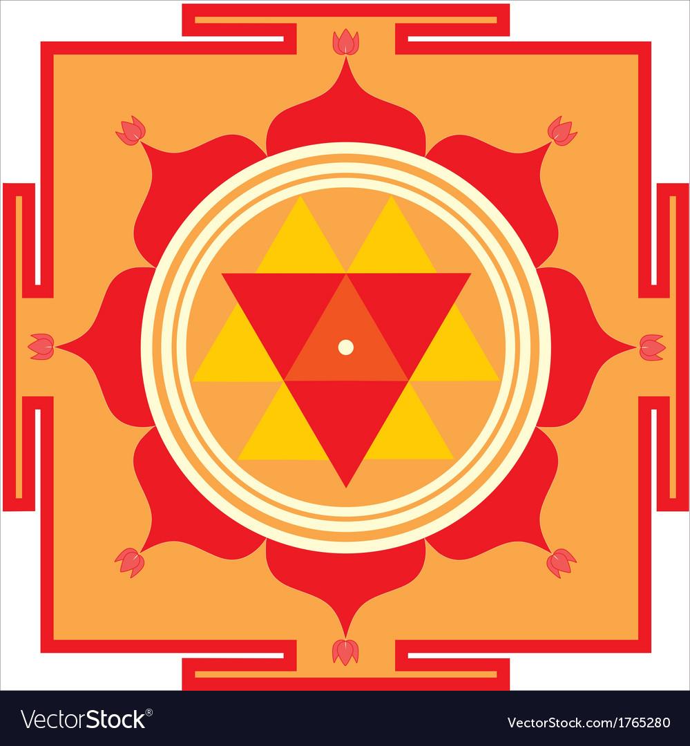 Durga yantra vector | Price: 1 Credit (USD $1)