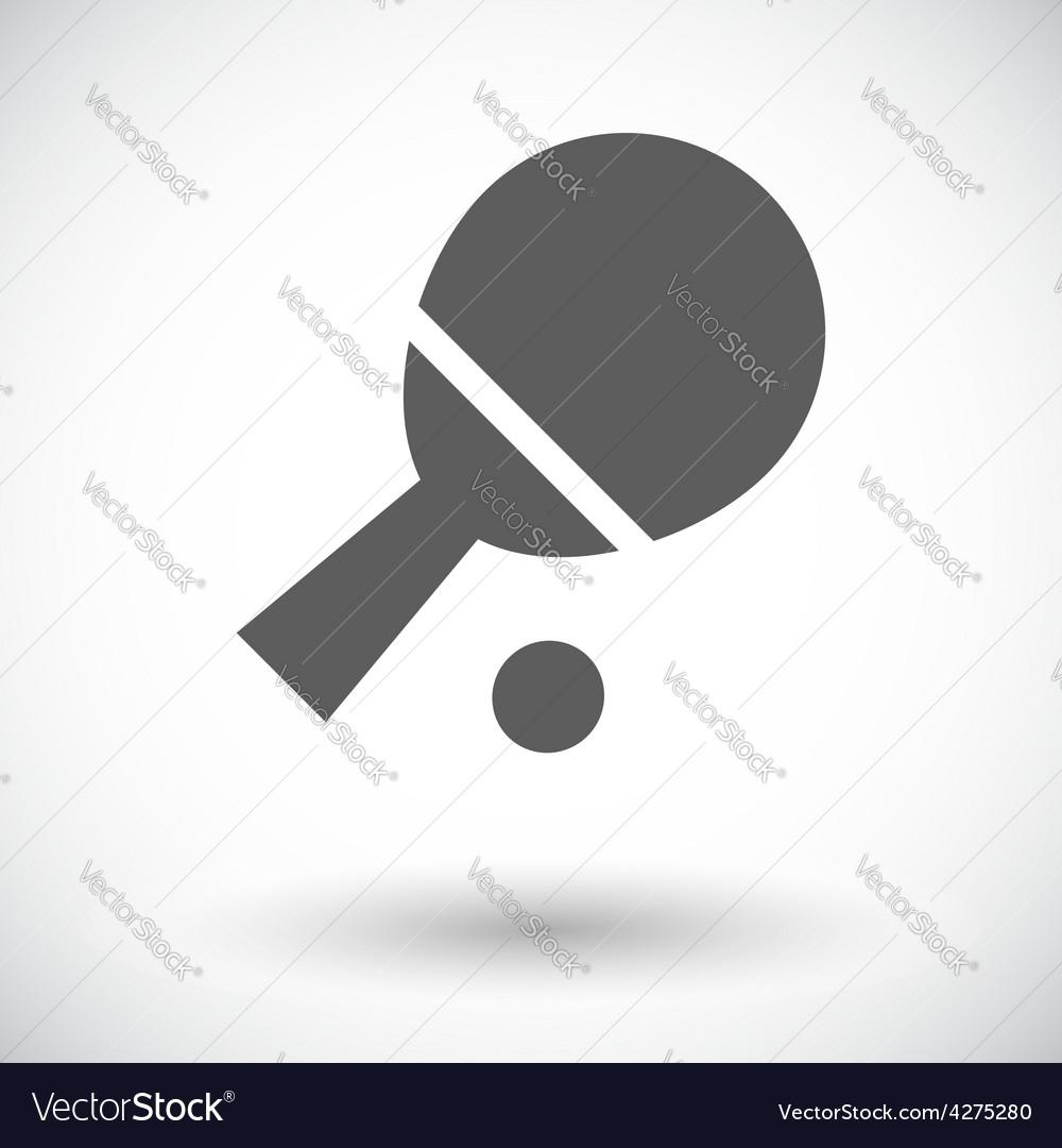 Table tennis vector | Price: 1 Credit (USD $1)