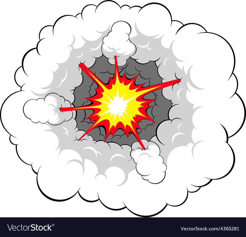Comic explosion vector | Price: 1 Credit (USD $1)