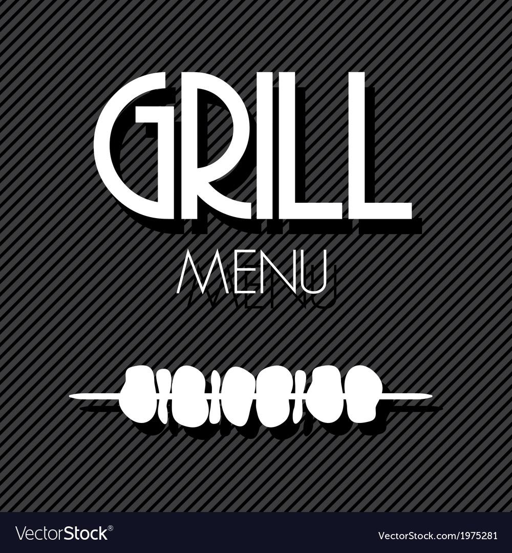 Grill menu2 vector | Price: 1 Credit (USD $1)