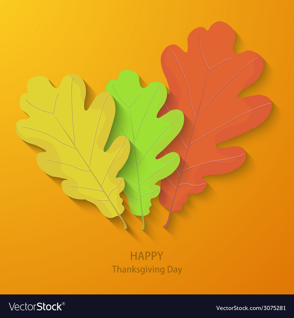 Modern thanksgiving day background vector