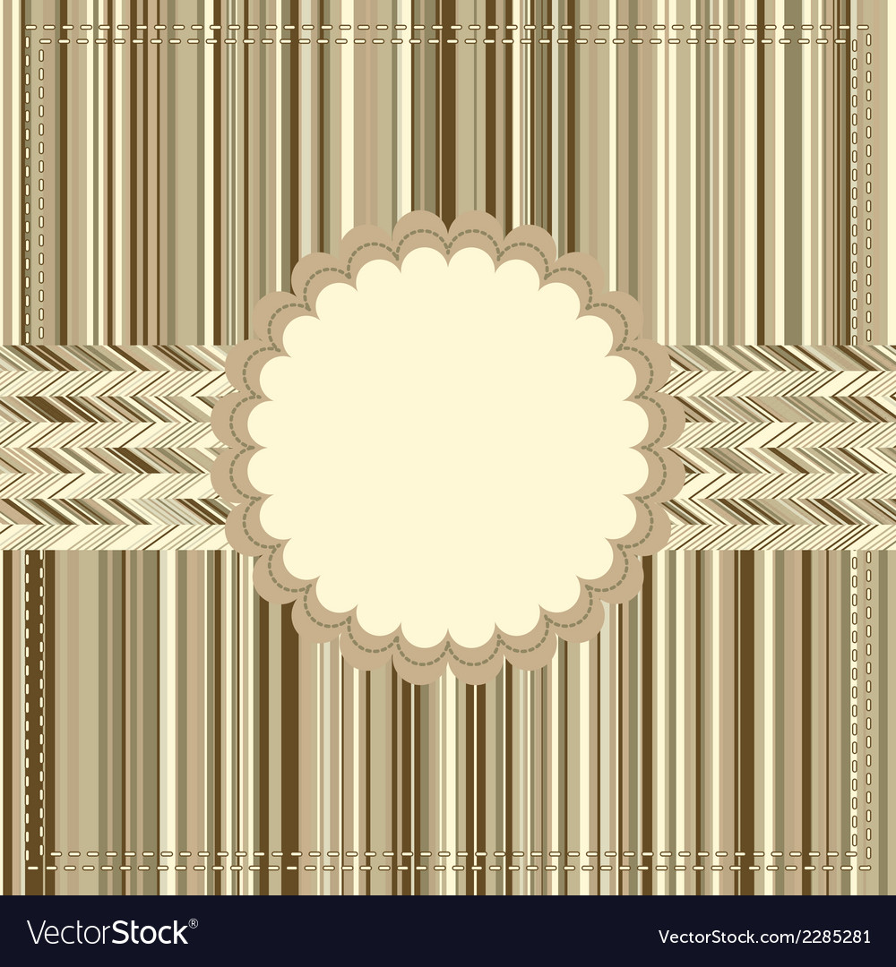 Vintage card or package design eps8 vector | Price: 1 Credit (USD $1)