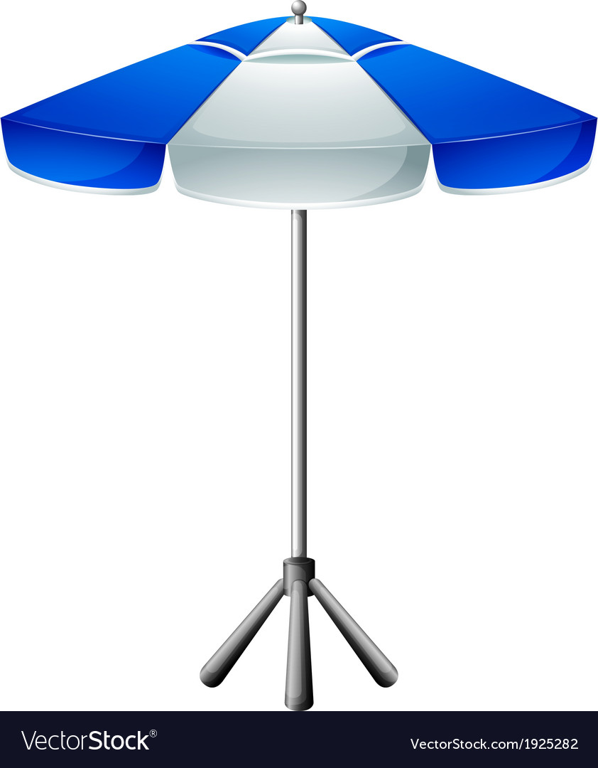 A big beach umbrella vector | Price: 1 Credit (USD $1)