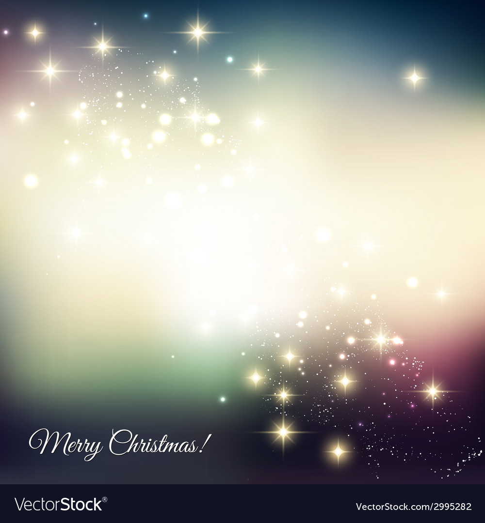Abstract christmas light background vector | Price: 1 Credit (USD $1)