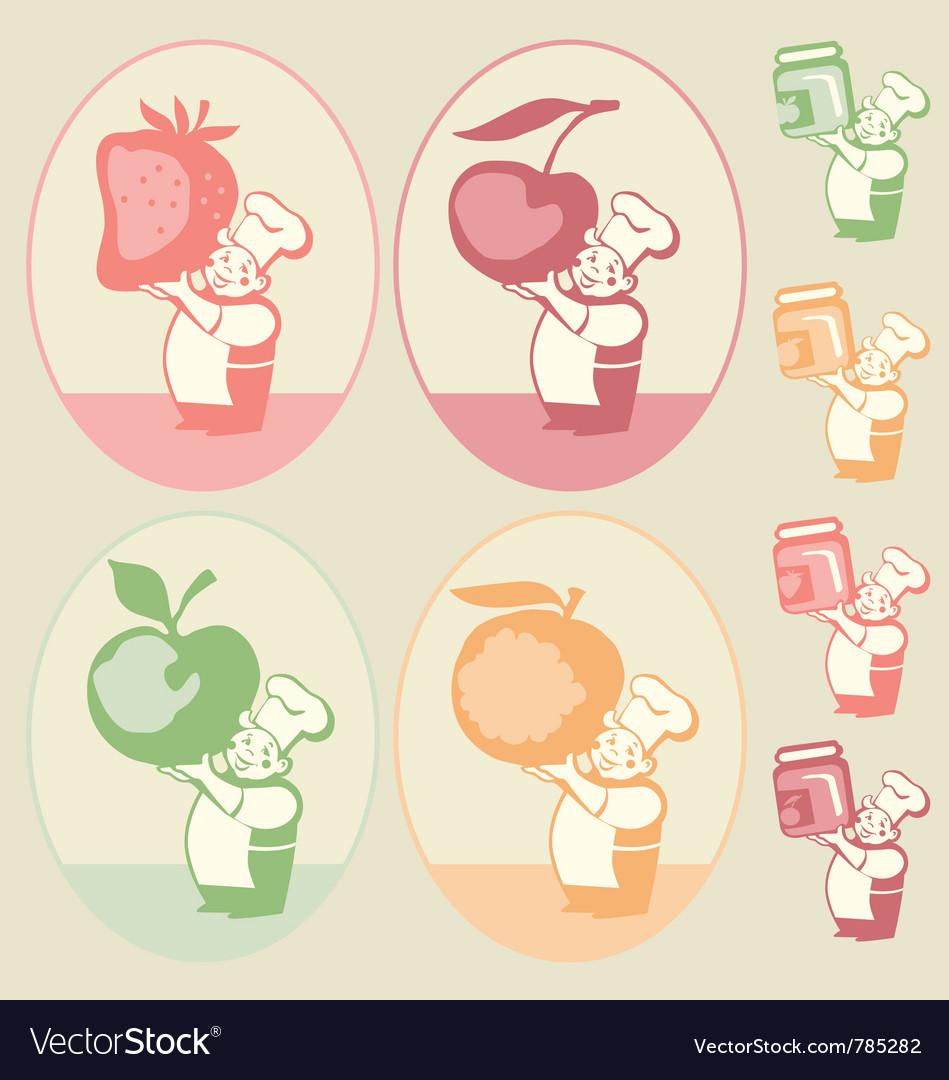 Kitchen sticker vector   Price: 1 Credit (USD $1)
