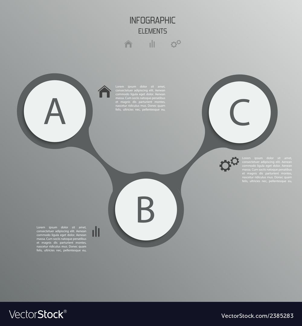 Abstract paper banner for infographics vector | Price: 1 Credit (USD $1)