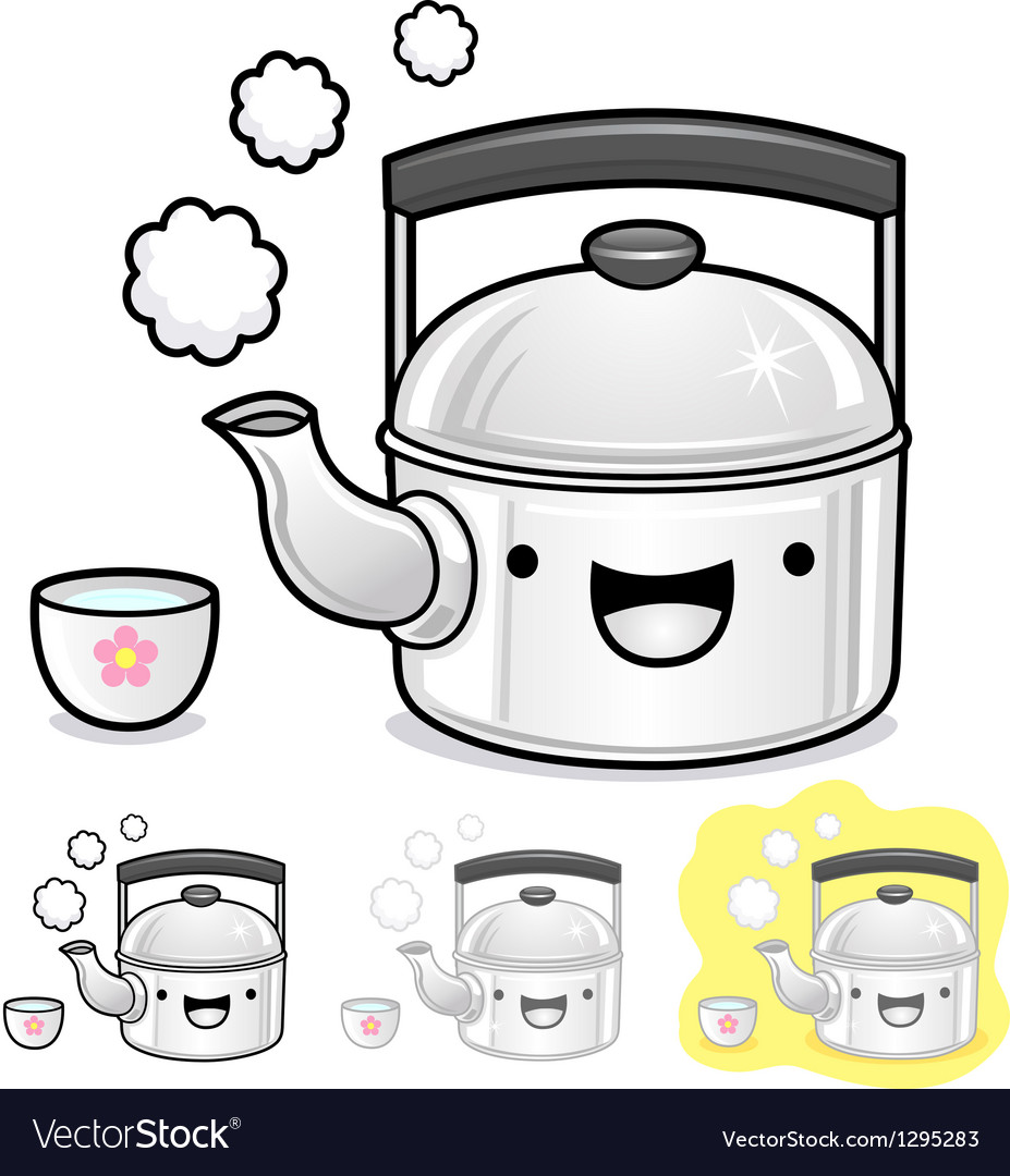 Diverse styles of kettle and teakettle sets vector | Price: 1 Credit (USD $1)