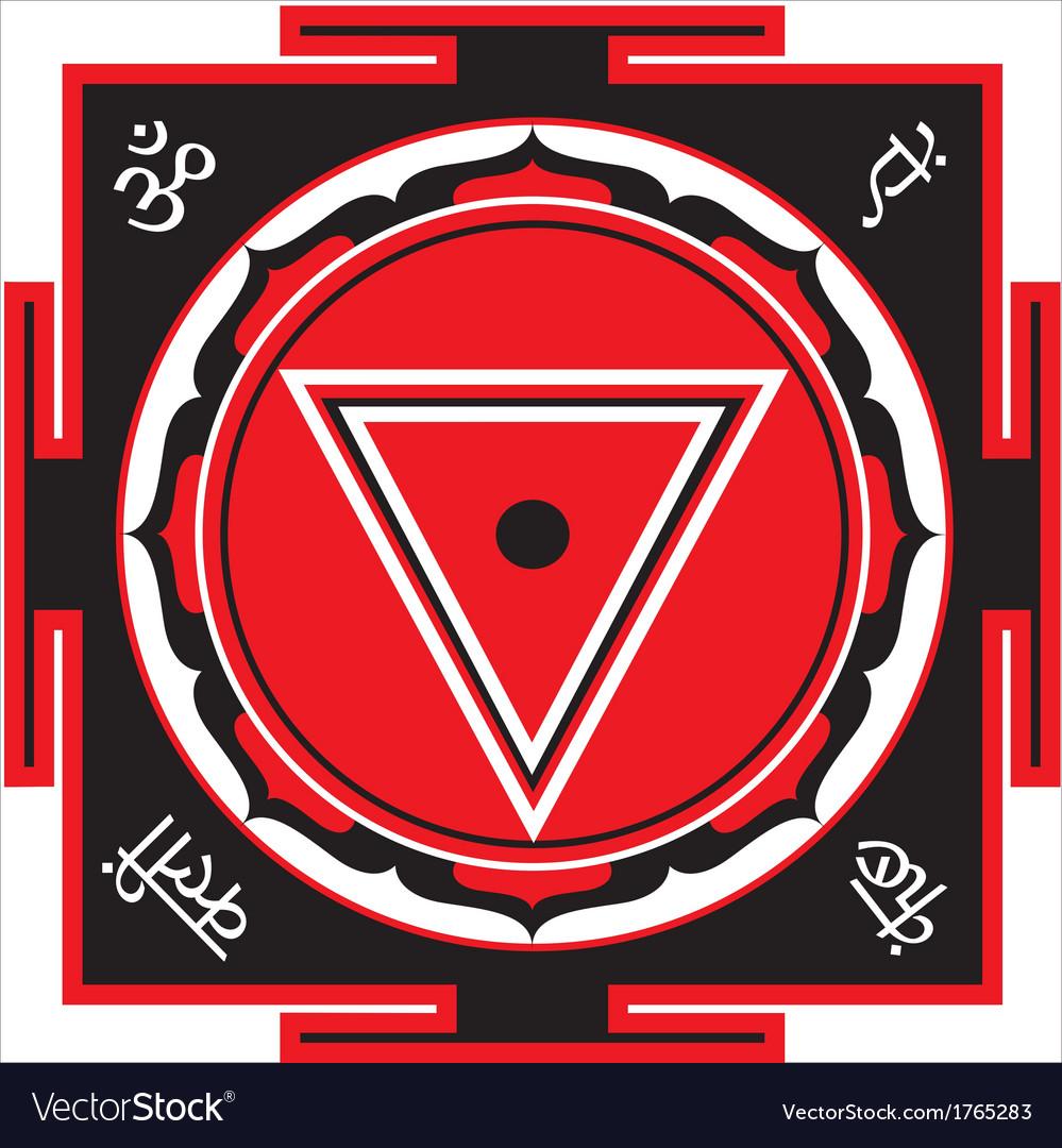 Kali yantra vector | Price: 1 Credit (USD $1)