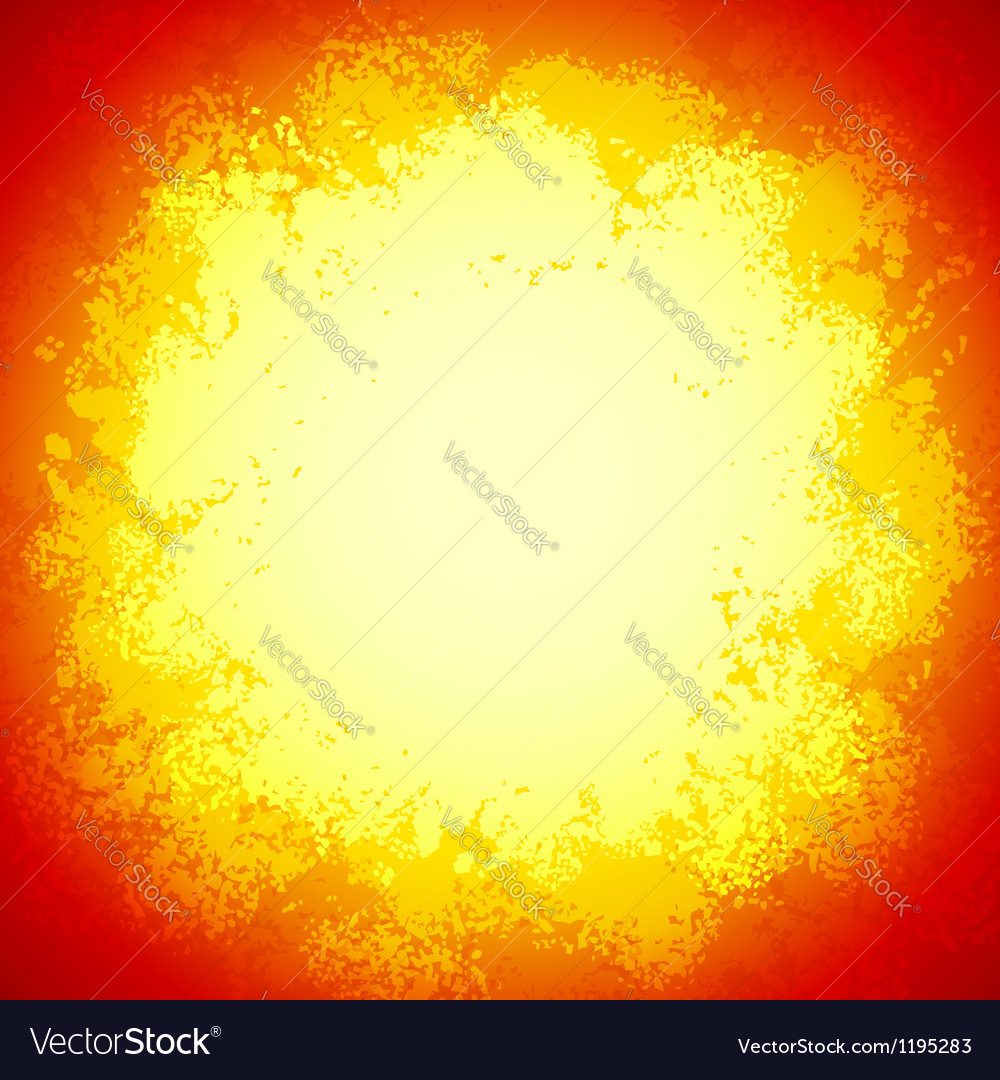 Red bright grunge colorful explode vector | Price: 1 Credit (USD $1)