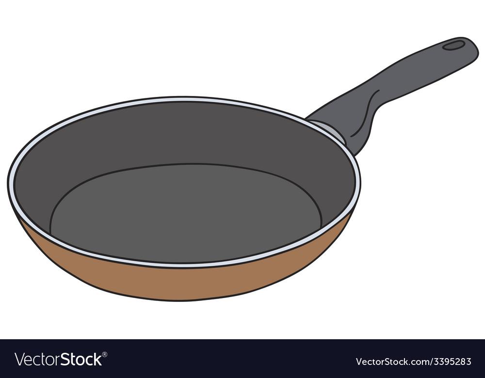 Teflon pan vector | Price: 1 Credit (USD $1)