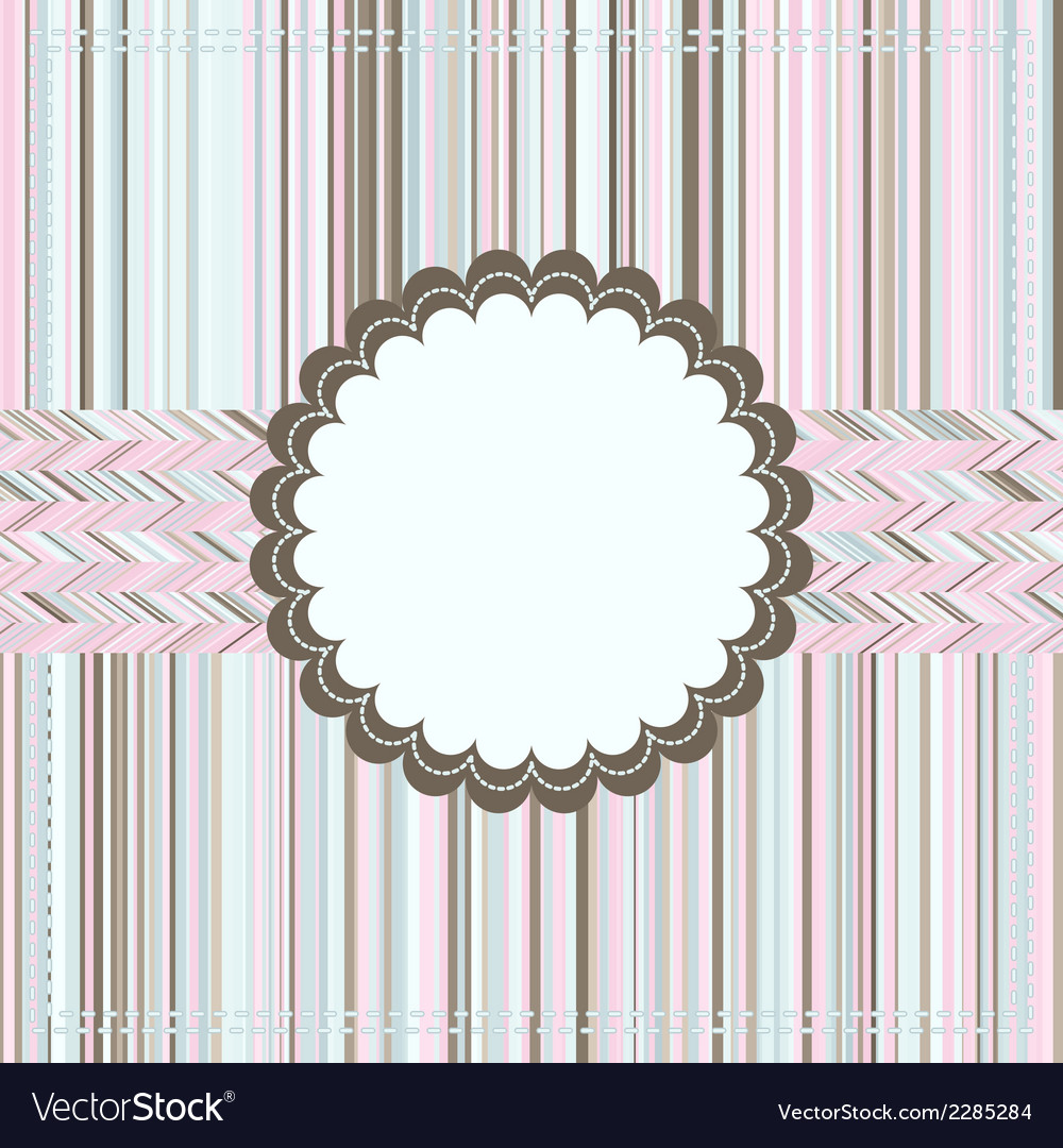 Vintage card or package design eps 8 vector | Price: 1 Credit (USD $1)