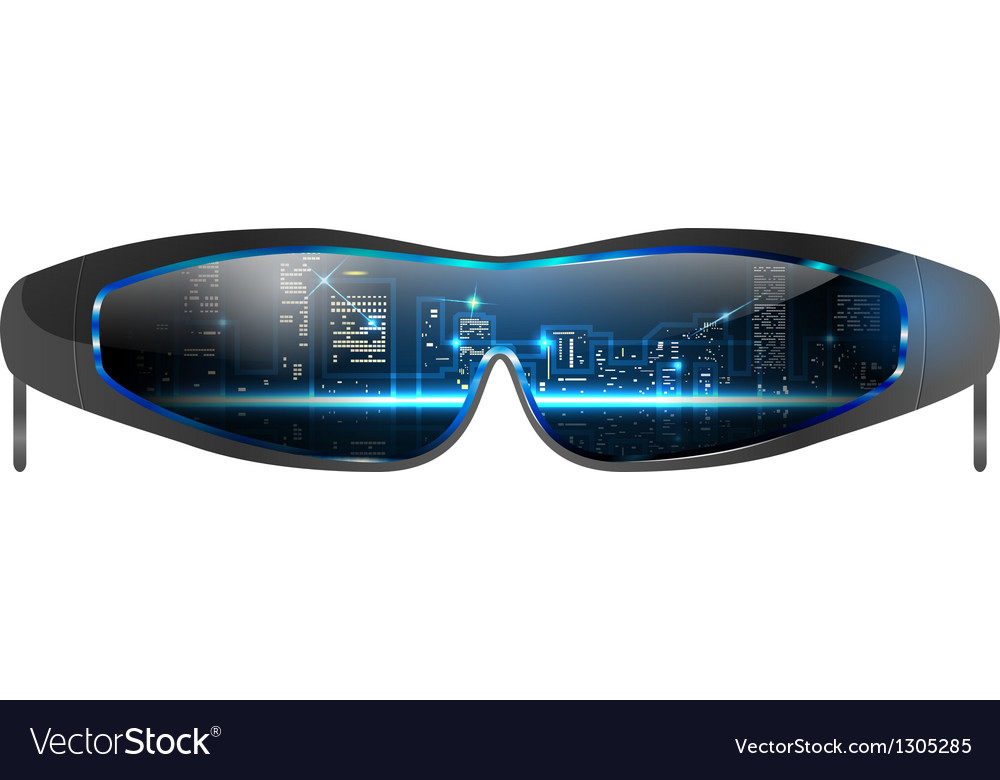 Cool sunglasses vector | Price: 1 Credit (USD $1)