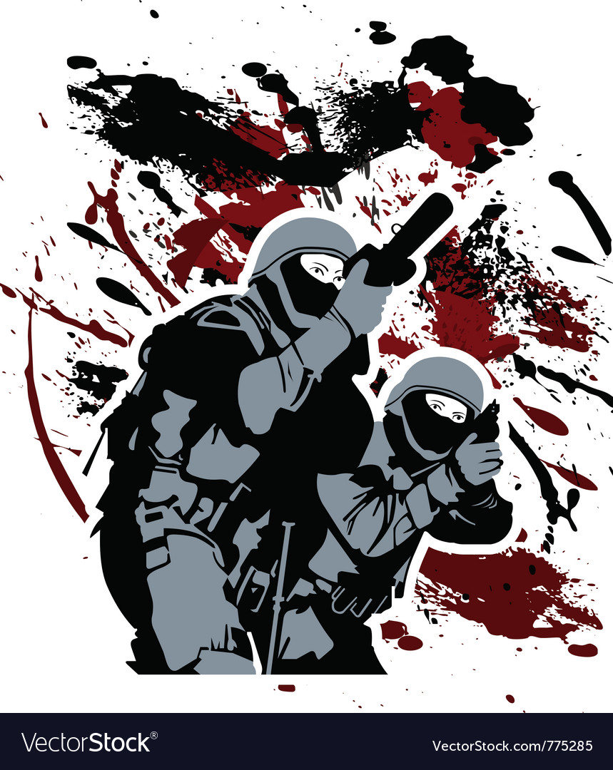 Elite soldiers vector | Price: 1 Credit (USD $1)