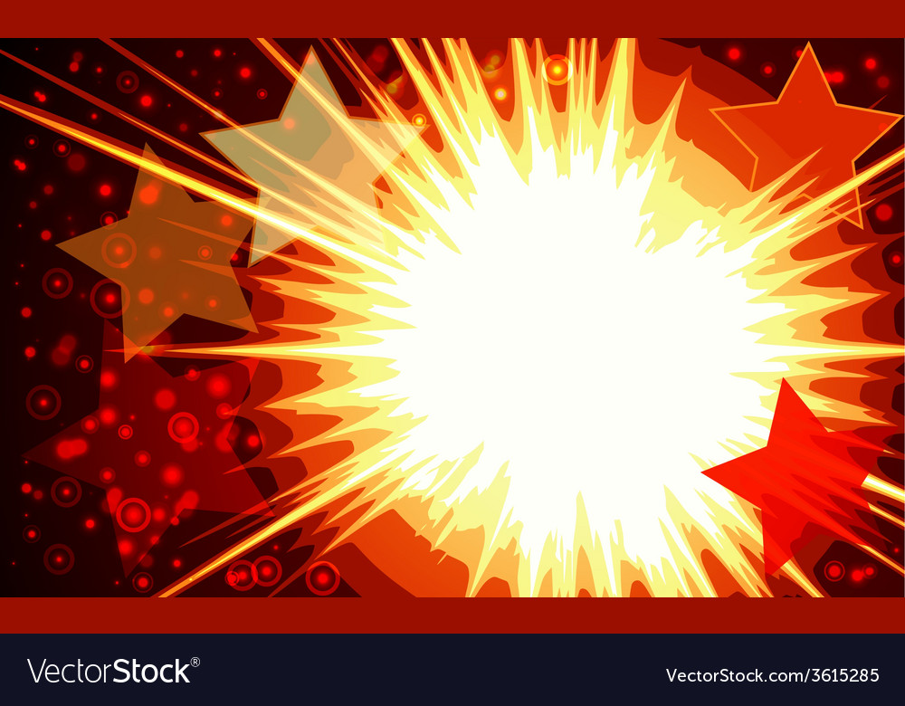 Explosion background vector | Price: 1 Credit (USD $1)