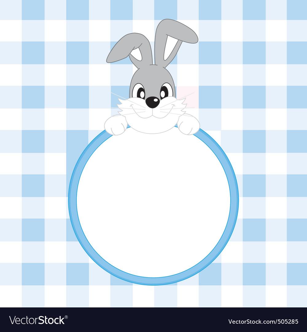 Frame rabbit vector | Price: 1 Credit (USD $1)
