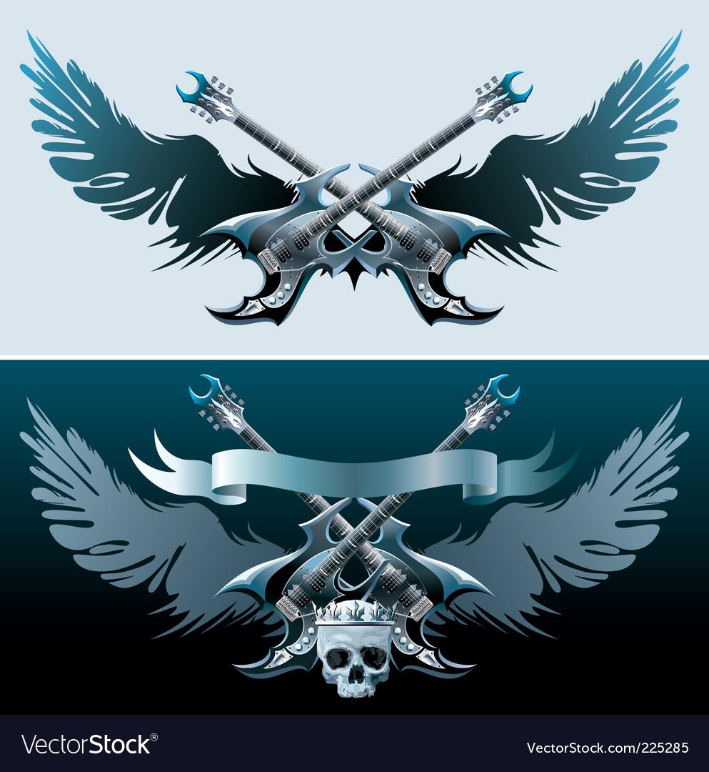 Heavy rock symbols vector | Price: 3 Credit (USD $3)