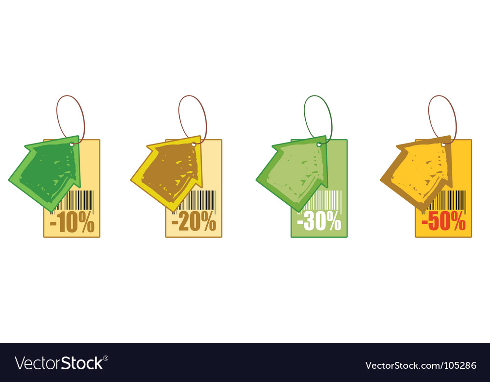 Discount house vector | Price: 1 Credit (USD $1)
