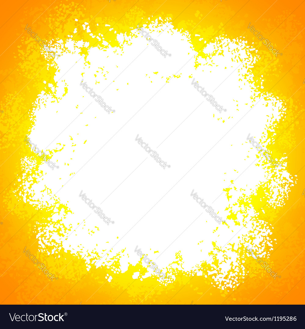 Orange bright grunge colorful explode vector | Price: 1 Credit (USD $1)