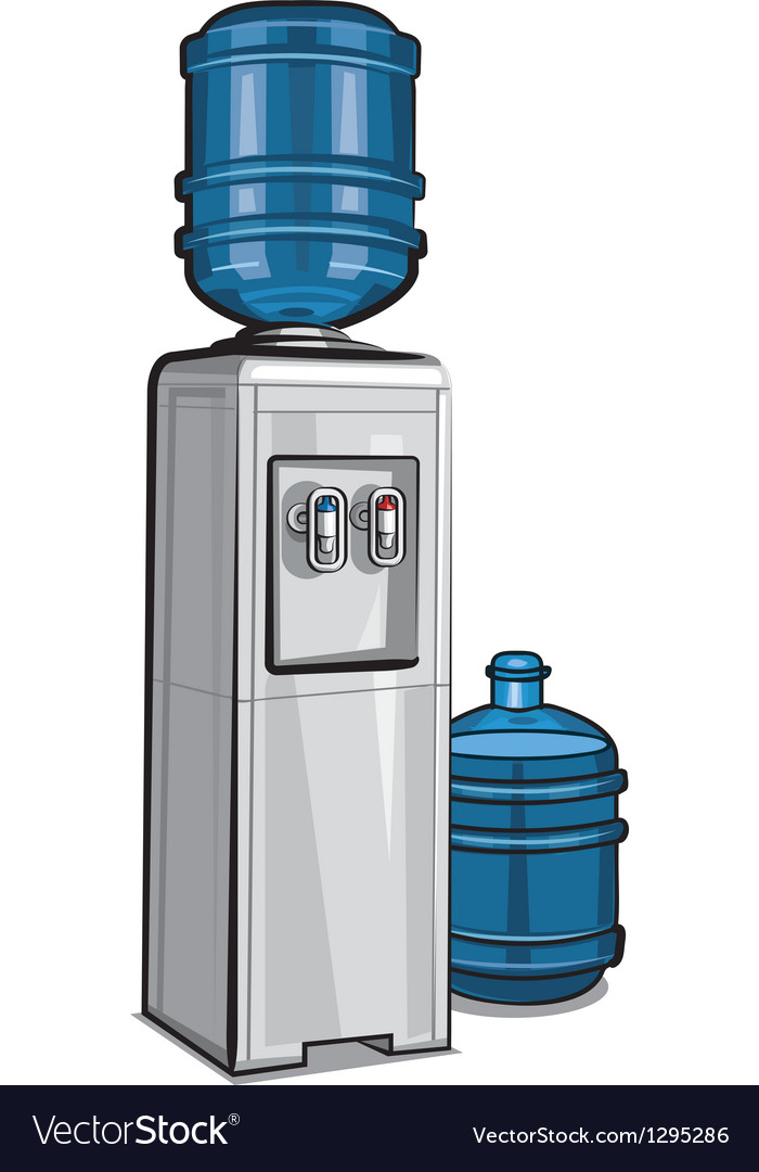 Water cooler vector | Price: 3 Credit (USD $3)