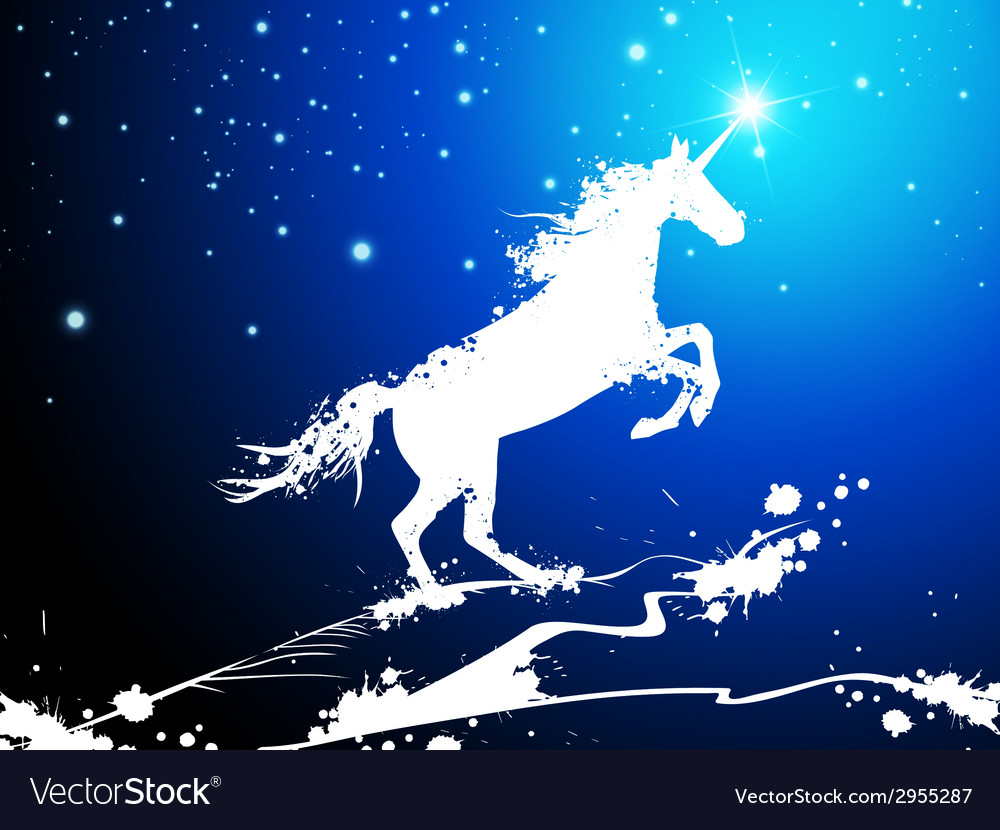 Christmas magic horse vector | Price: 1 Credit (USD $1)