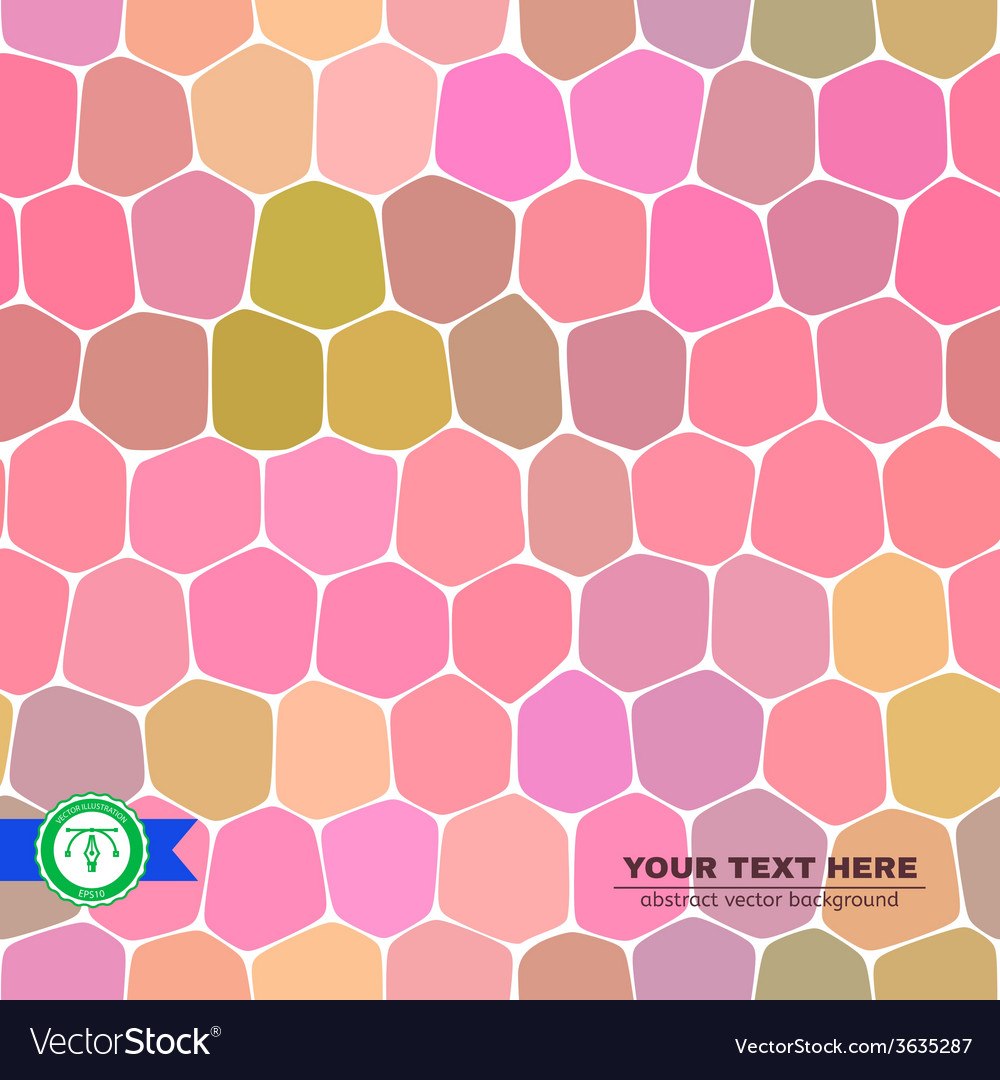 Colorful honeycomb seamless background vector   Price: 1 Credit (USD $1)