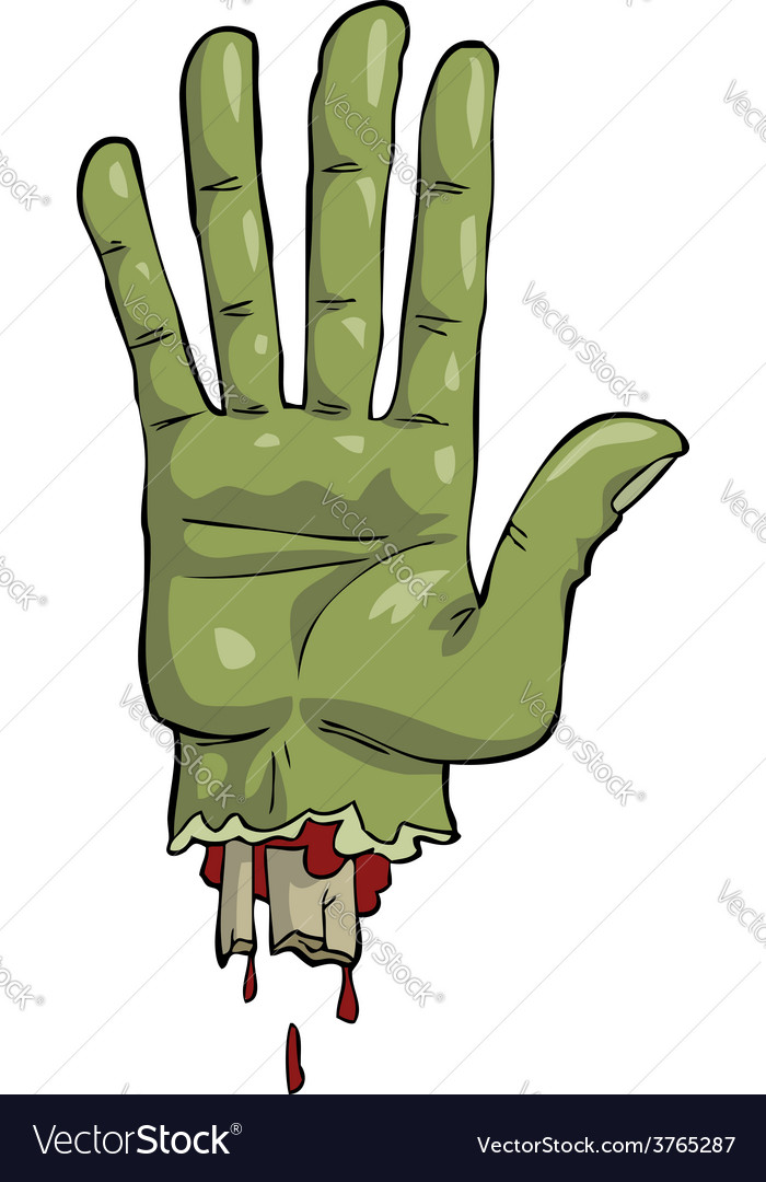Dead hand vector | Price: 3 Credit (USD $3)