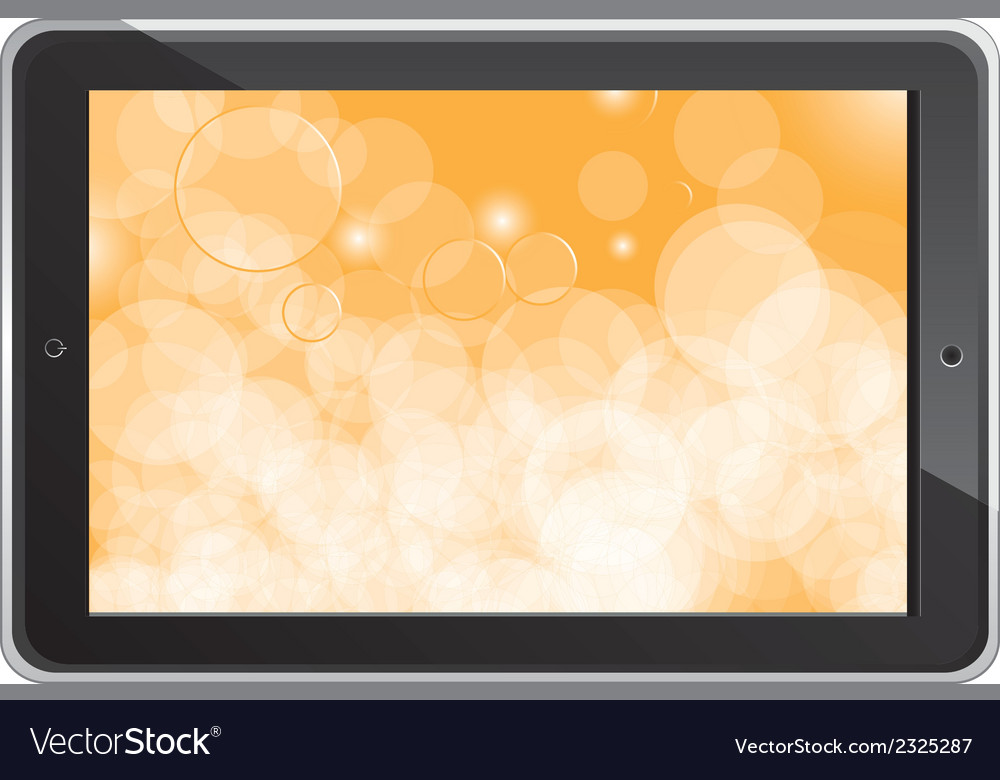 Digital tablet vector | Price: 1 Credit (USD $1)