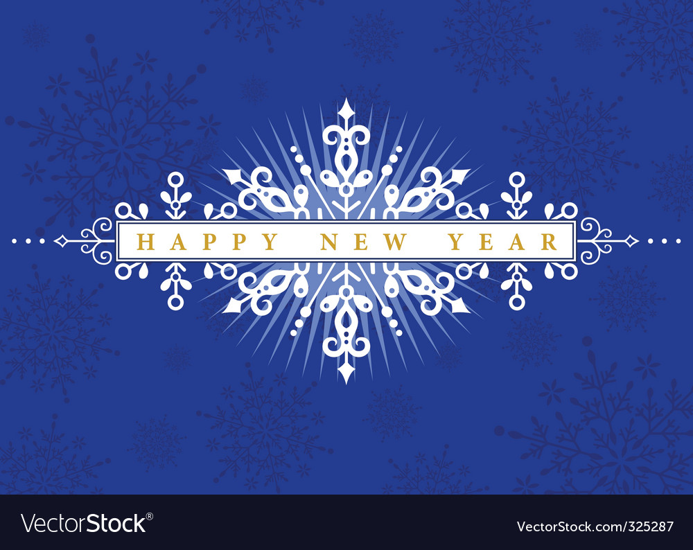 New years card vector | Price: 1 Credit (USD $1)