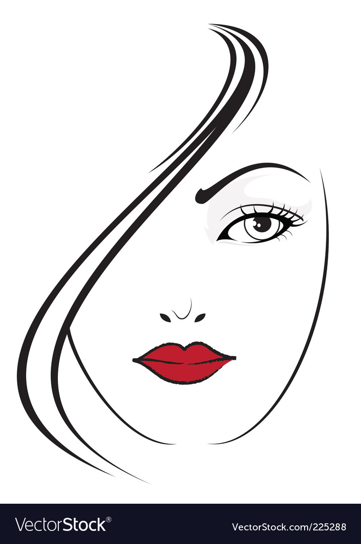 Elegant girl vector | Price: 1 Credit (USD $1)