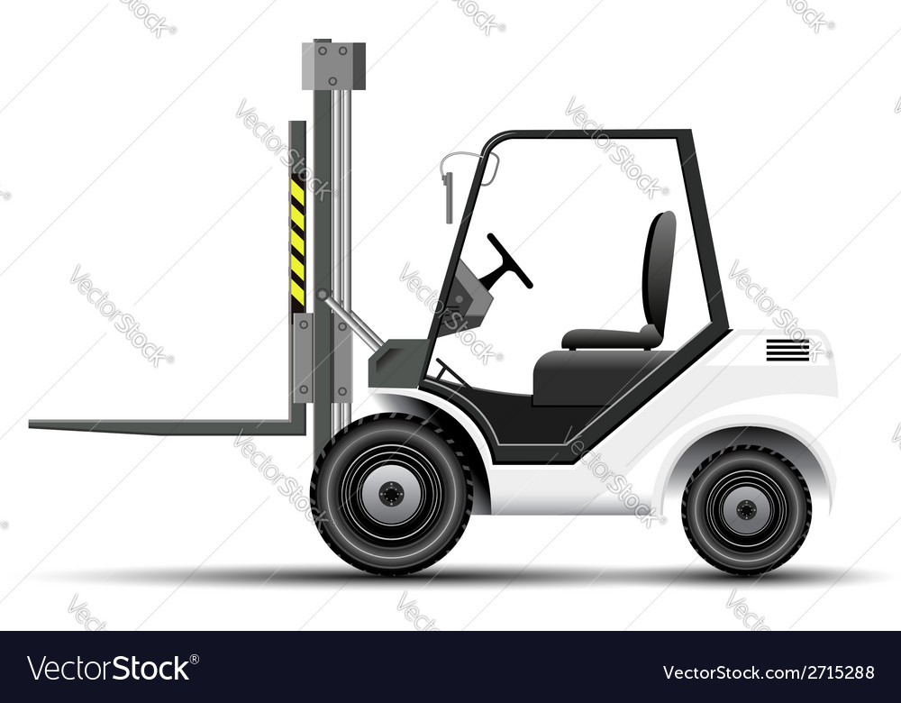 Forklift icon vector | Price: 3 Credit (USD $3)