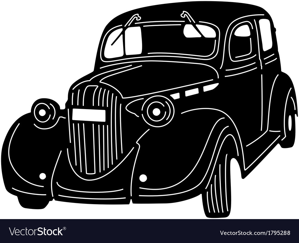Great detailed car vector