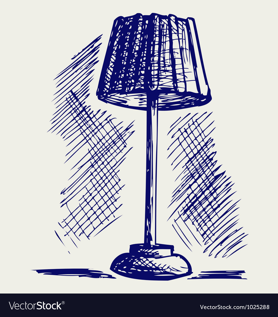 Lamp for the bedroom vector | Price: 1 Credit (USD $1)