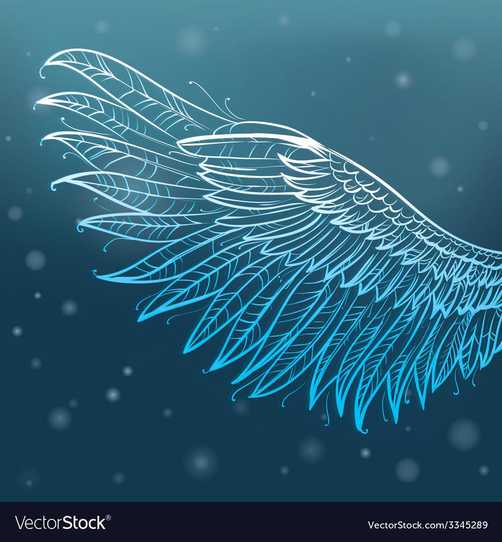 Angel wings vector | Price: 1 Credit (USD $1)