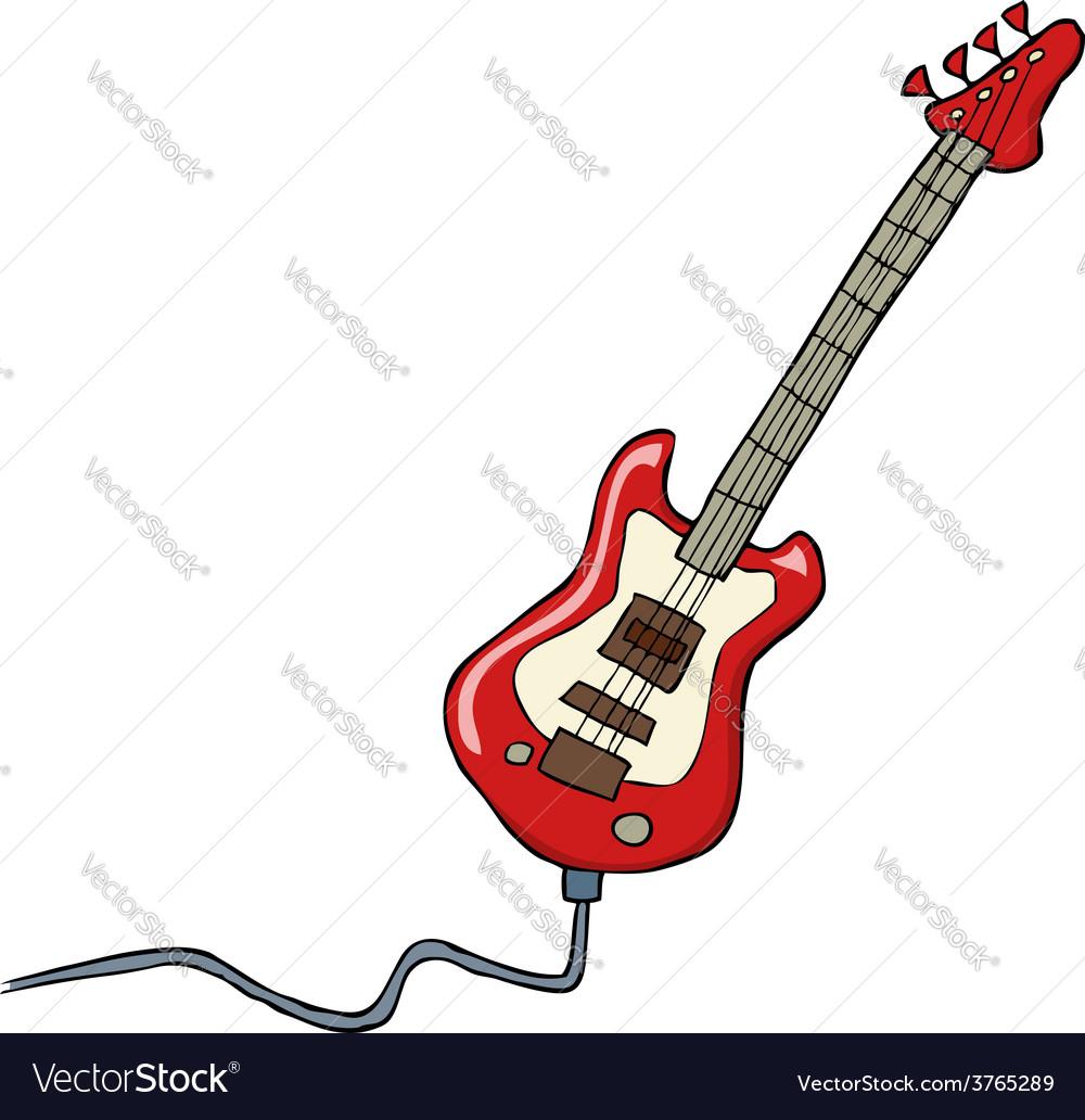Electric guitar vector | Price: 3 Credit (USD $3)