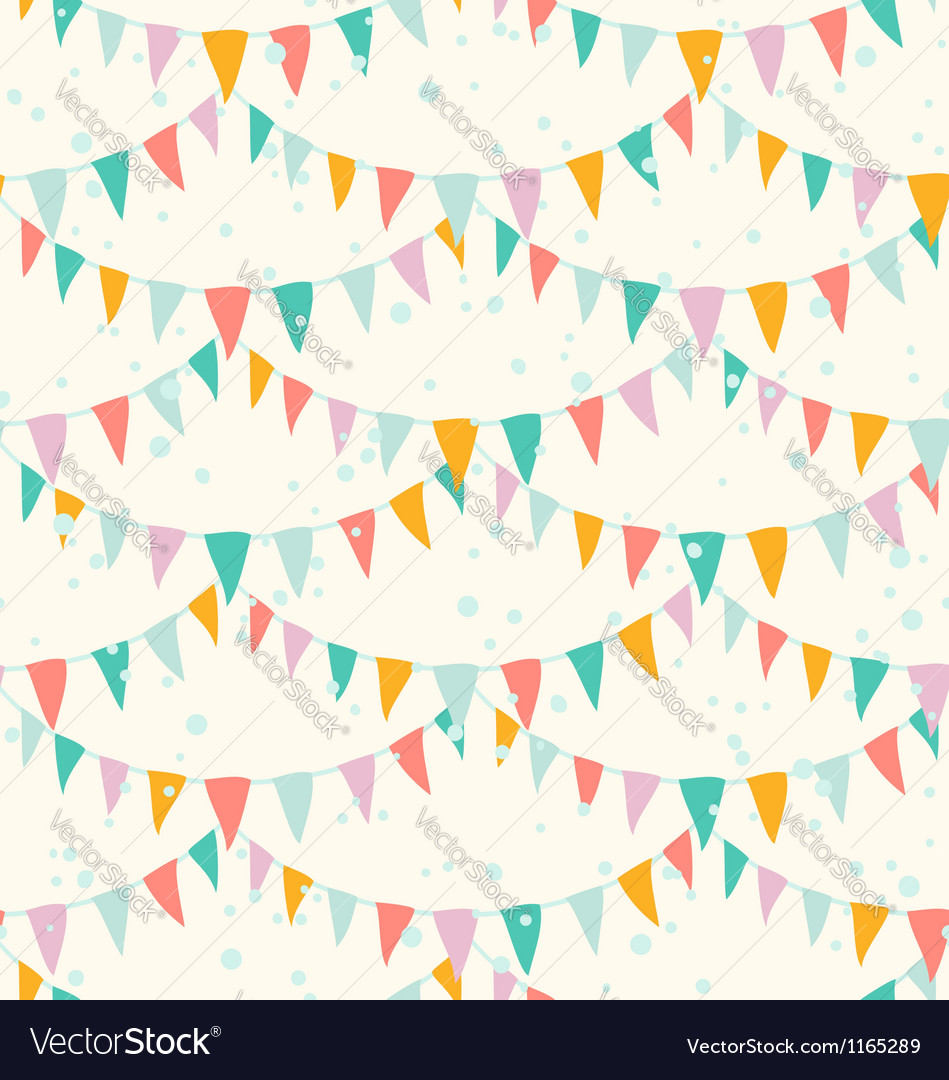 Garlands pattern vector | Price: 1 Credit (USD $1)