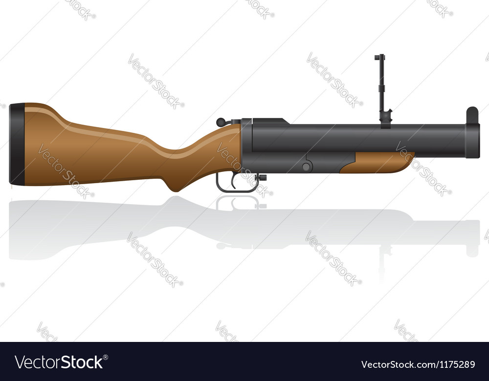 Grenade gun 02 vector | Price: 1 Credit (USD $1)
