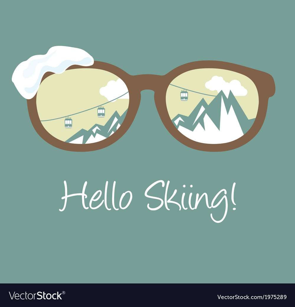 Hello winter1 vector | Price: 1 Credit (USD $1)