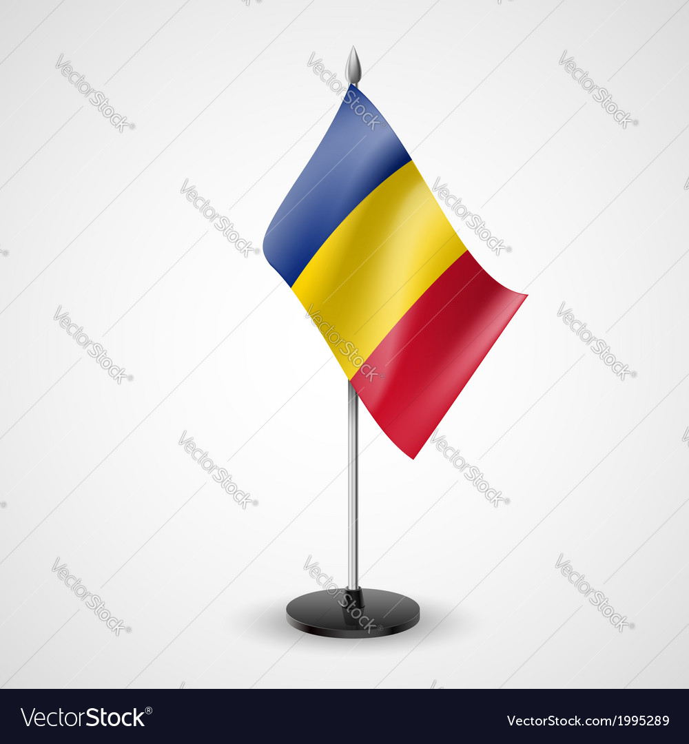 Table flag of chad vector | Price: 1 Credit (USD $1)